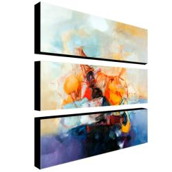 Zavaleta 'Abstract III' 3-piece Art Set