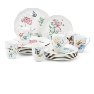 Superbe Lenox Butterfly Meadow 18 Piece Dinnerware Set (Service For 6)