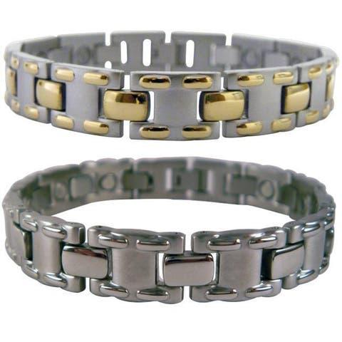 Mangetic Stainless Steel MT-laced Bracelets
