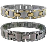 Mangetic Stainless Steel MT-laced Bracelets