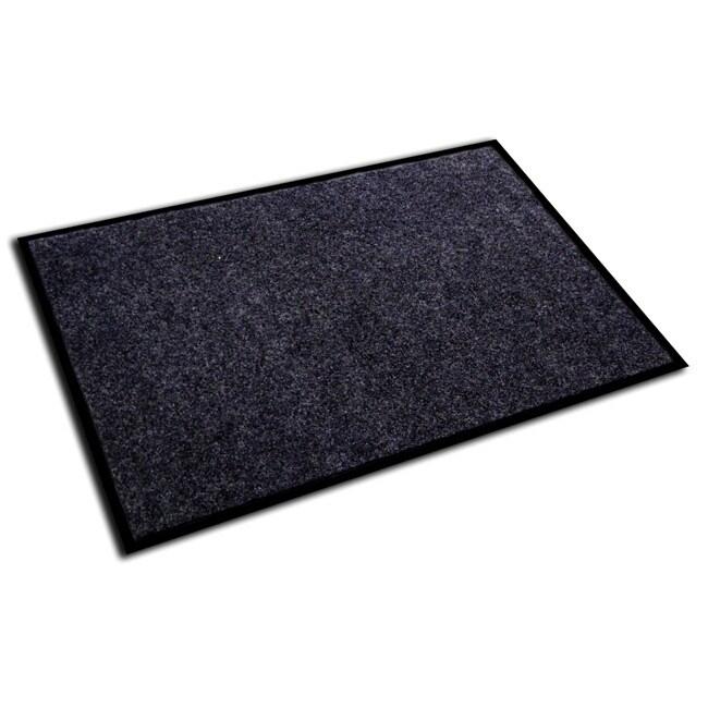 Floortex Ecotex Plush Charcoal Entrance Mat 36 X 48
