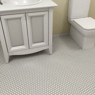Somertile Victorian Hex Matte White Porcelain Mosaic Tiles (Pack of 10)|https://ak1.ostkcdn.com/images/products/5784557/P13508157.jpg?impolicy=medium