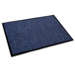 Floortex Ecotex Blue 24x36-inch Rib Entrance Mat