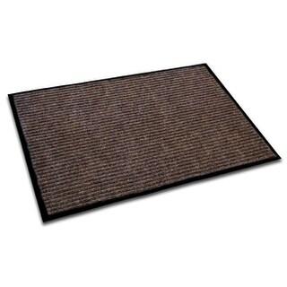 "Doortex Ribmat Indoor Entrance Mat Brown Rectangular Size 24"" x 36"" - 24 X 36"