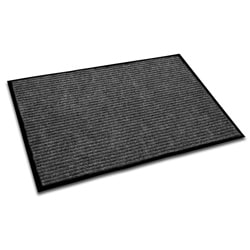 Floortex Ecotex Charcoal 36x48-inch Rib Entrance Mat
