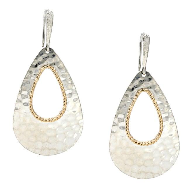 Sterling Silver Teardrop Dangle Earrings