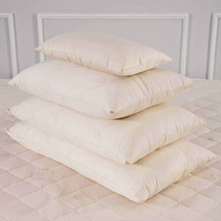 Organic Eco-Valley Wool Medium Firmness European Square Pillow