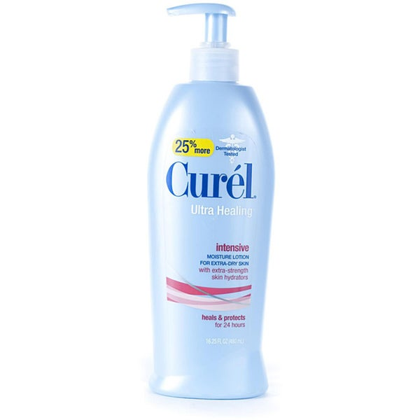 Curel Ultra Healing Moisture 16.25-ounce Lotions (Pack of 4)