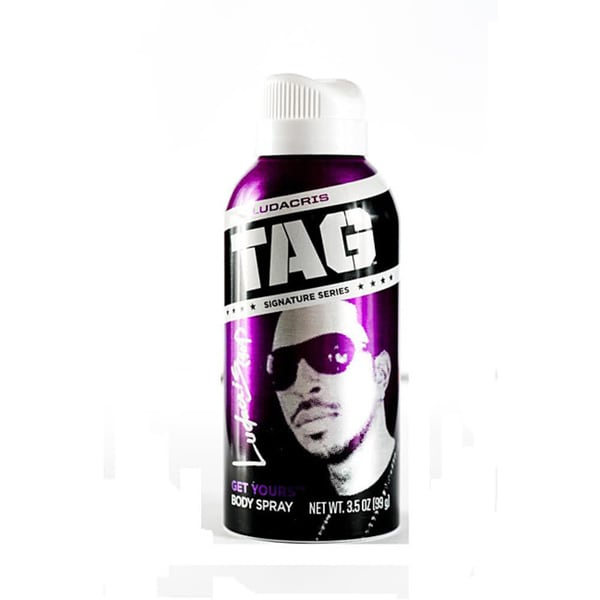 Tag Men's 3.5-ounce Ludacris 'Get Yours' Signature Body Spray (Pack of 4)