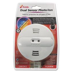 Kidde Dual-sensor Nine-volt Smoke Alarm with Low-battery Warning - Thumbnail 1