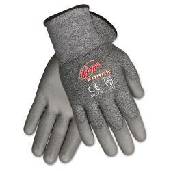 MCR Safety 'Ninja Force' Large Grey Polyurethane Gloves
