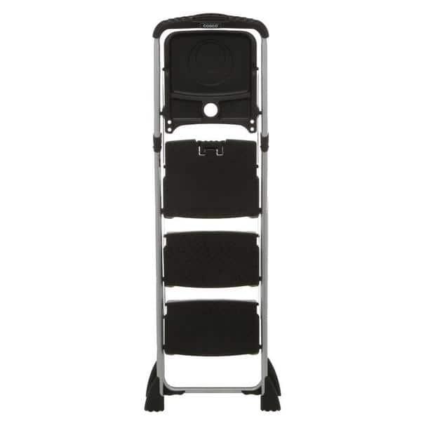 Sensational Shop Cosco Max Work Steel Platform Black Step Stool Free Ncnpc Chair Design For Home Ncnpcorg