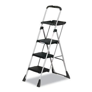 Cosco Max Work Steel Platform Black Step Stool|https://ak1.ostkcdn.com/images/products/5785165/P13508639.jpg?impolicy=medium