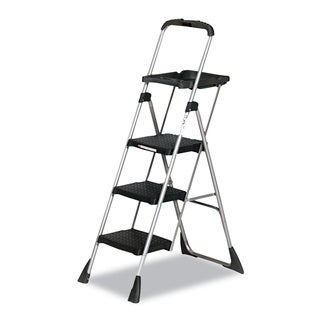 Cosco Max Work Steel Platform Black Step Stool