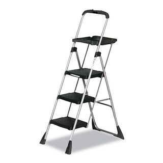 Cosco Max Black Steel Platform Work Step Stool