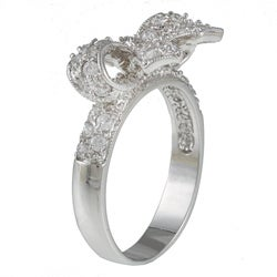 Thumbnail 2, Kate Bissett Cubic Zirconia Bow Ring. Changes active main hero.