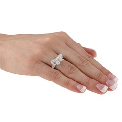 Thumbnail 3, Kate Bissett Cubic Zirconia Bow Ring. Changes active main hero.