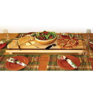 Tableboards Large Maple/ Walnut Serving and Cutting Board
