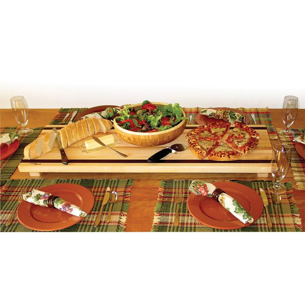 Table Boards Large Maple Walnut