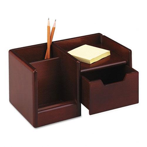 Rolodex Wood Tones Mahogany Handheld Electronics Organizer