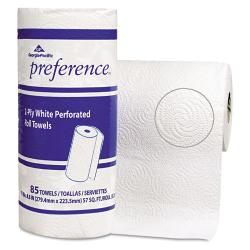 Georgia Pacific Perforated White Paper Towel Rolls (Case of 15)