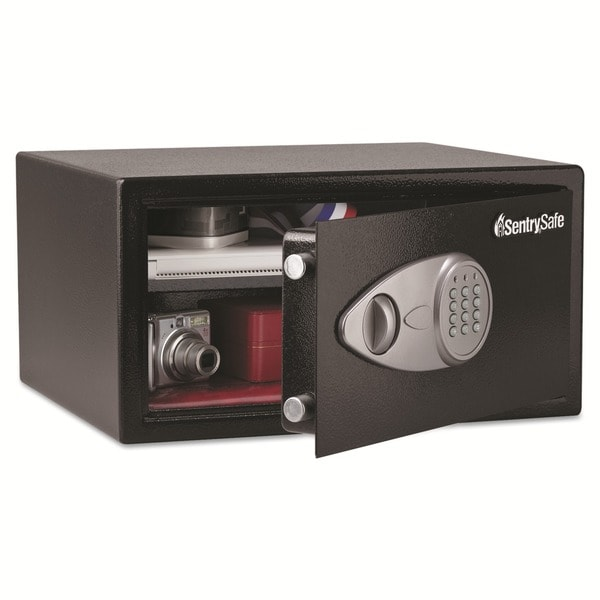 Sentry Safe 1-cu-ft Electronic Lock Security Black Safe