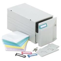 Innovera150-disc Light Grey CD/ DVD Storage Drawer