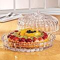 Fifth Avenue Crystal Alexandria Domed Cake Plate