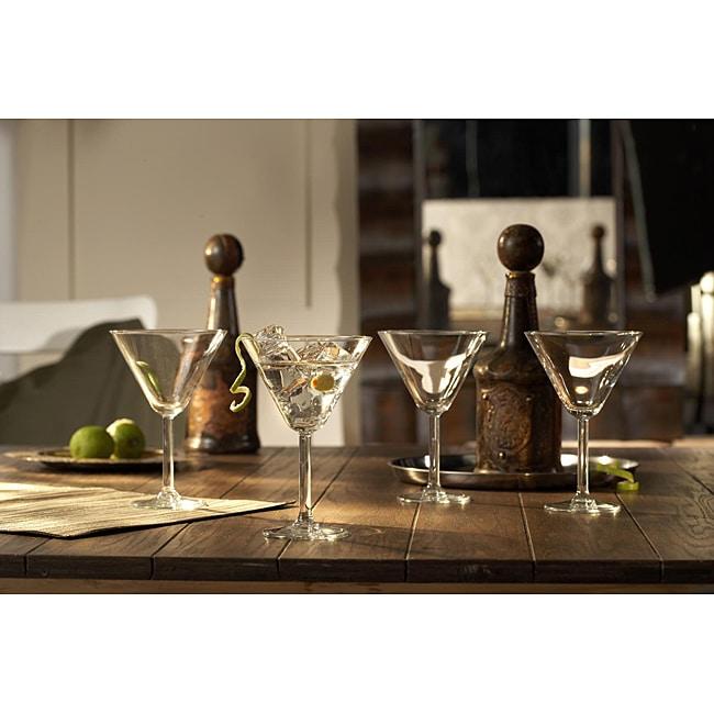Fifth Avenue Crystal Ambassador Martini Glasses (Set of 4)