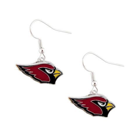 Arizona Cardinals Dangle Logo Earrings