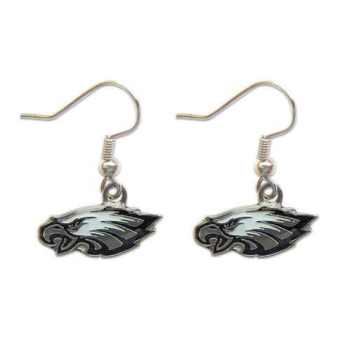 Philadelphia Eagles Dangle Logo Earrings