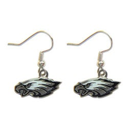 Philadelphia Eagles Dangle Logo Earrings