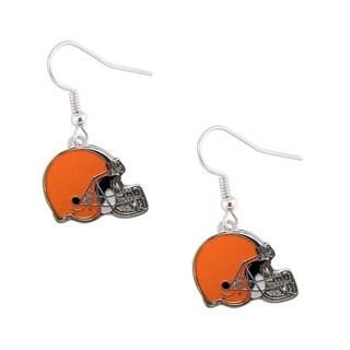 Cleveland Browns Dangle Logo Earrings
