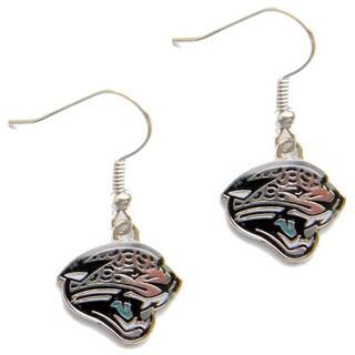 Jacksonville Jaguars Dangle Logo Earrings