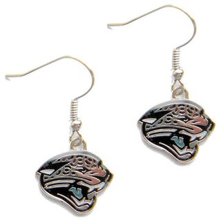 Jacksonville Jaguars Dangle Logo Earrings