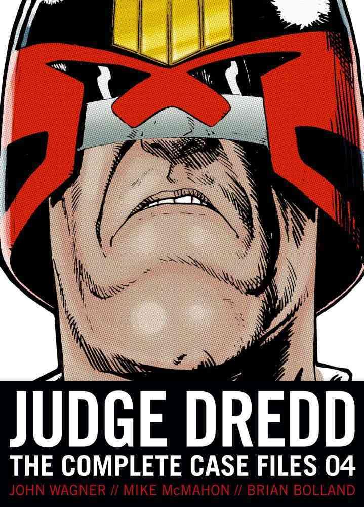 Judge Dredd 4: The Complete Case Files (Paperback)