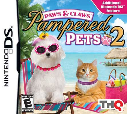 Nintendo DS - Paws and Claws Pampered Pets 2