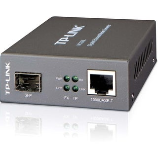 TP-LINK MC220L Gigabit Media Converter, 1000Mbps RJ45 to 1000Mbps SFP