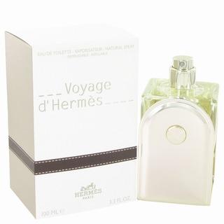 Hermes Voyage DHermes Men's 3.3-ounce Eau de Toilette Spray (Refillable)