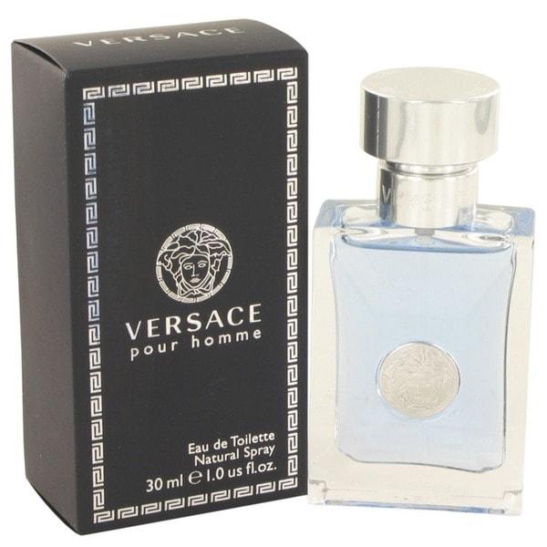 Versace Pour Homme Men's 1-ounce Eau de Toilette Spray