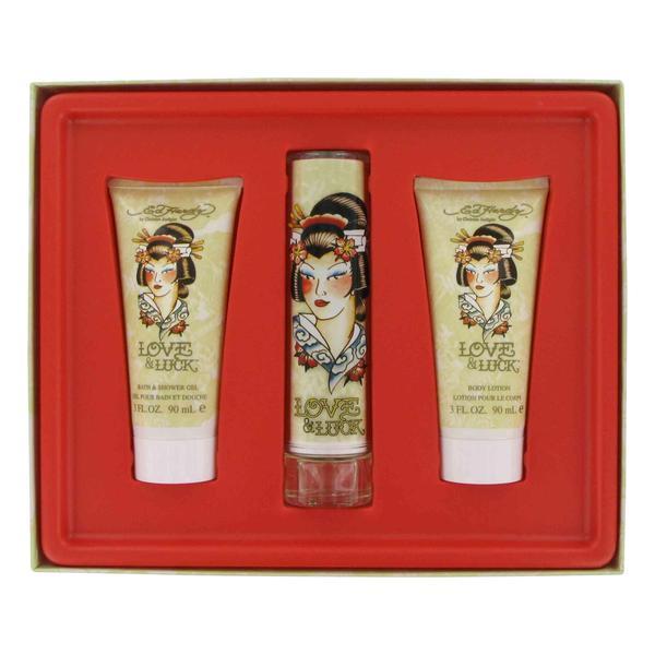 Christian Audigier Love & Luck Women's Fragrance Gift Set