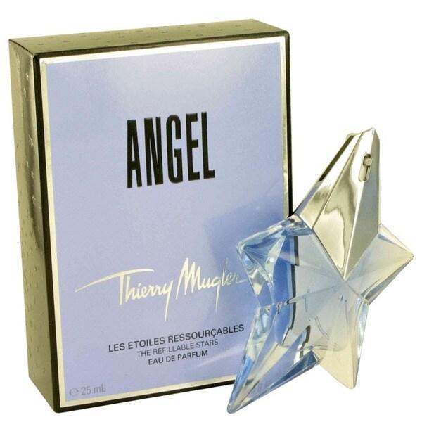 Thierry Mugler Angel Women's 0.8-ounce Eau de Parfum Refillable Spray