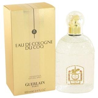 Guerlain Du Coq Men's 3.4-ounce Eau de Cologne Spray