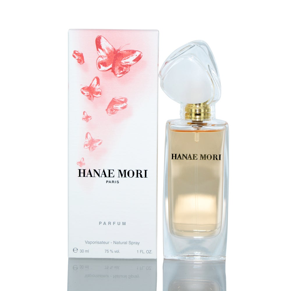 Hanae Mori 1-ounce Pure Perfume Spray for Women (Woody/Oriental)