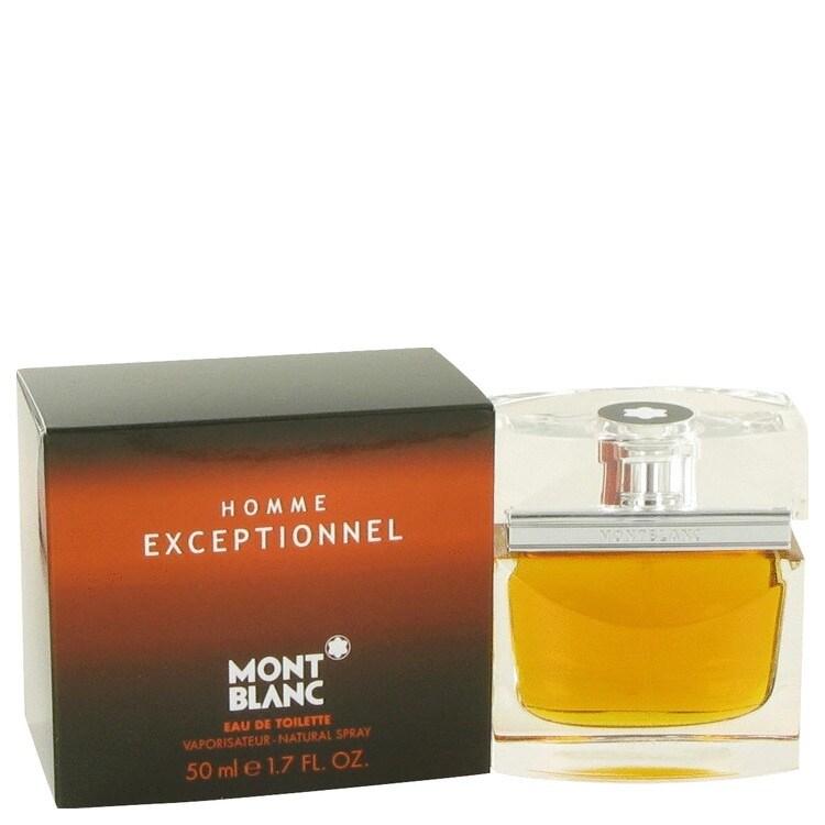 Mont Blanc Homme Exceptionnel 1.7-ounce Eau de Toilette S...