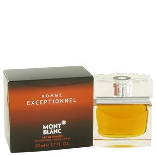 Mont Blanc Homme Exceptionnel 1.7-ounce Eau de Toilette Spray for Men