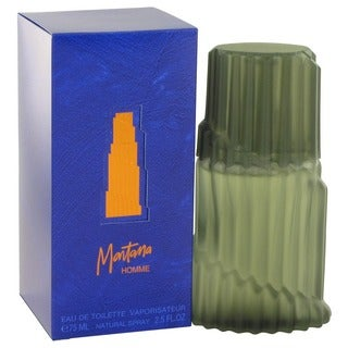 Montana Men's 2.5-ounce Eau de Toilette Spray