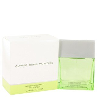 Alfred Sung 'Paradise' Women's 3.4-ounce Eau De Parfum Spray