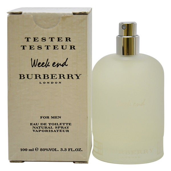 Shop Burberry Weekend Men's 3.4 ounce Eau de Toilette Spray