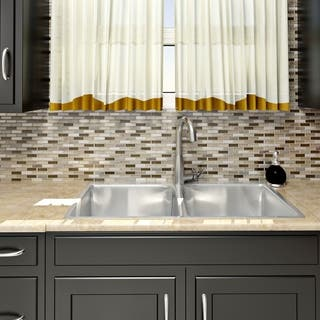 Somertile Reflections Subway Nassau Stone and Glass Mosaic Tiles (Pack of 10)|https://ak1.ostkcdn.com/images/products/5787857/P13510912.jpg?impolicy=medium
